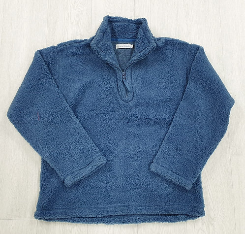 Nouveau Edition blue fleece. Size L