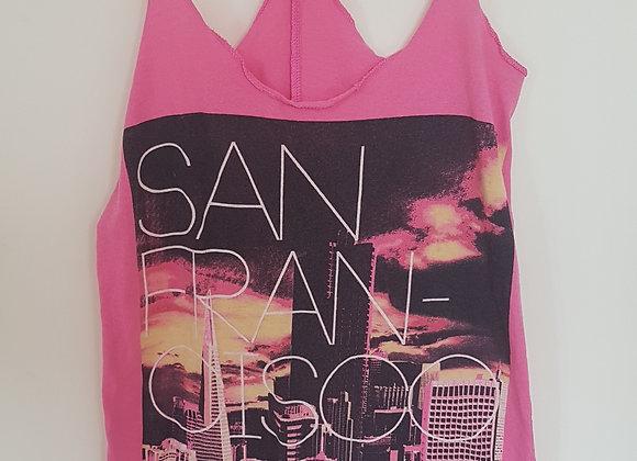 ATMOSPHERE. Pink vest top.