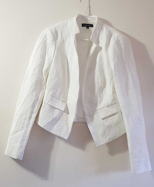 NEW LOOK White open jacket. Size 8