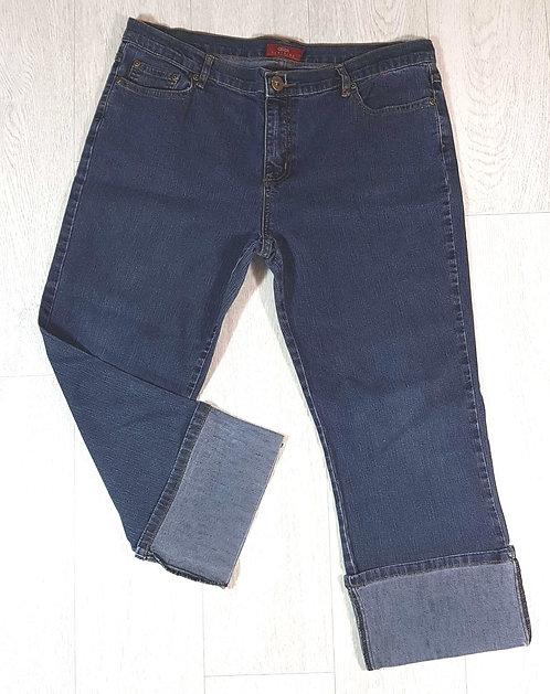 ◾Alibi cropped turn up denim jeans. Size 16