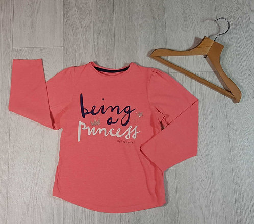 ◽Mothercare Bright pink long sleeve top. Age 6yrs