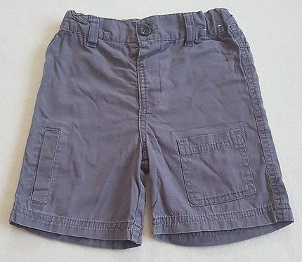 CHEROKEE. Grey shorts with adjustable waist. Size 2-3 years. Keep away from fire