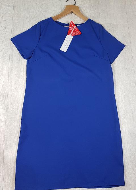 🔷️Glamorous blue dress with zip up back size 10 (NWT)