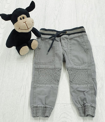 H&M grey jeans with elasticated waist. 1½-2yrs
