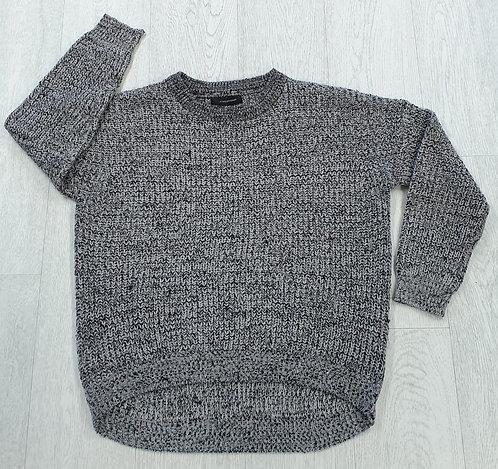 Atmosphere grey knit sweater. Uk 12