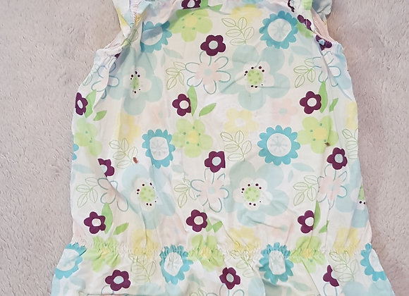 Cherokee. Floral light weight camisole vest top. 6-9 months.