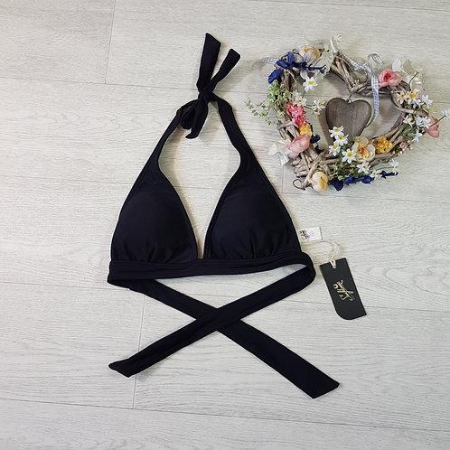 Black bikini top. Size Small NWT