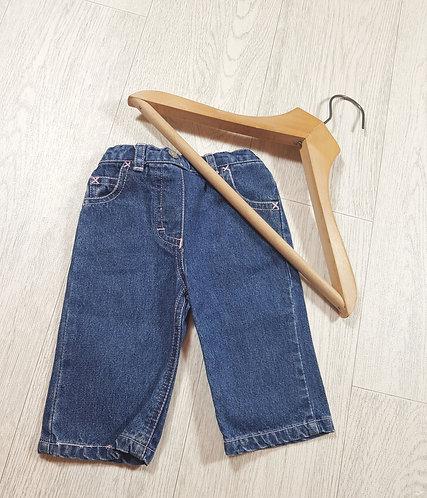 🌈M&Co baby girls denim jeans size 3-6 months