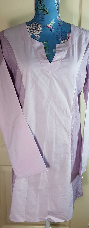 ◾Museum Selection lavendar tunic. Size M