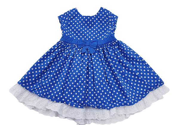 Bhs blue dress. 9-12m