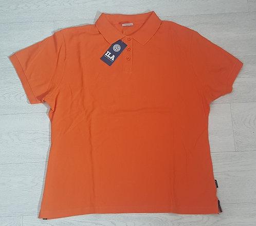 Tesco orange polo shirt. Size 20 (NWT)