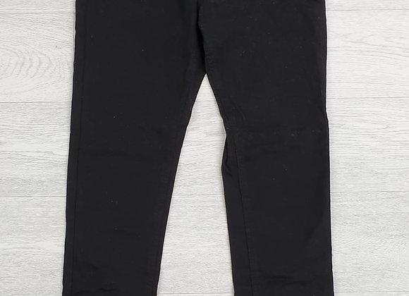 Denim Essentials black slim jeans. Uk 10 short