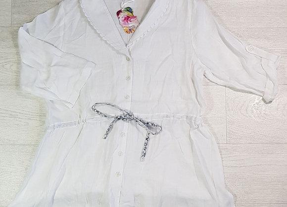 April Cornell white blouse. Size S