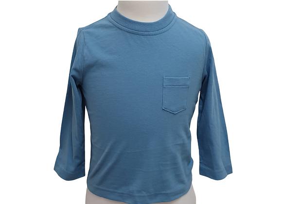 Cherokee blue top. 12-18m