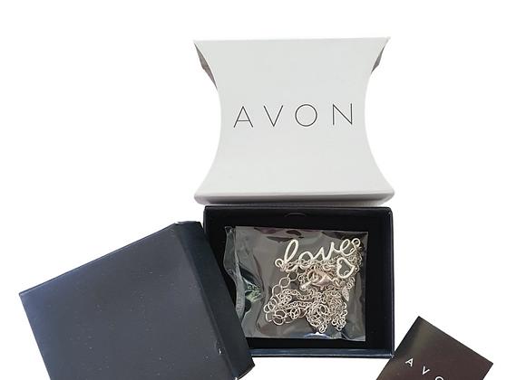 Avon Love necklace NWT