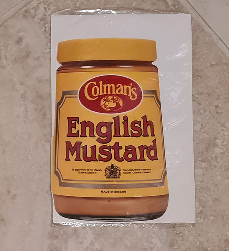 English Mustard greeting card
