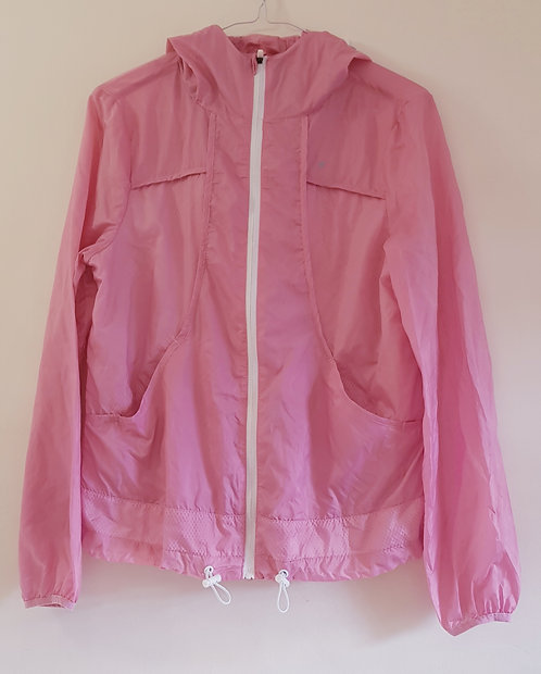 ATMOSPHERE Pink workout light weight jacket with ventilation throughout. Size 8