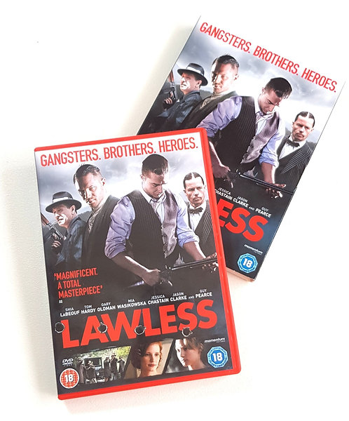 Lawless DVD rating 18