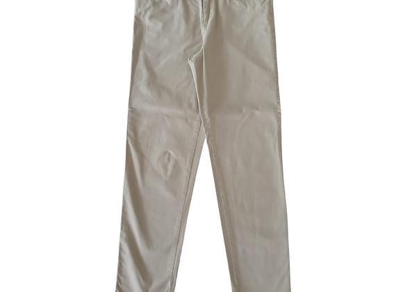 F&F beige slim trousers. Uk 8