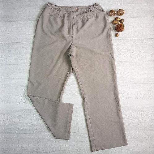Modern Classics beige trousers. Size 18