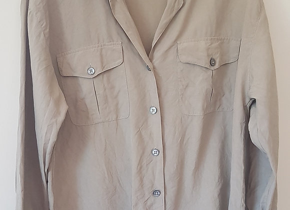 EPISODE By Carolyn Wight Freeman. Beige shirt/blouse.