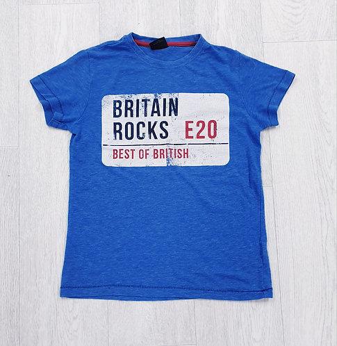 Next Britain Rocks t-shirt. 8yrs