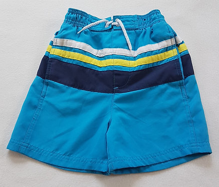 GEORGE. Blue swimming shorts. Size 4-5 years. Keep away from fire.