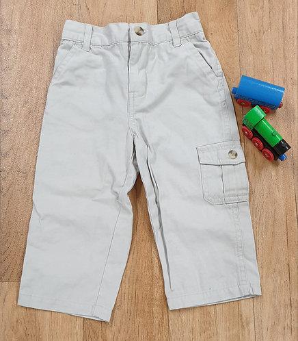 Beige trousers. 24m