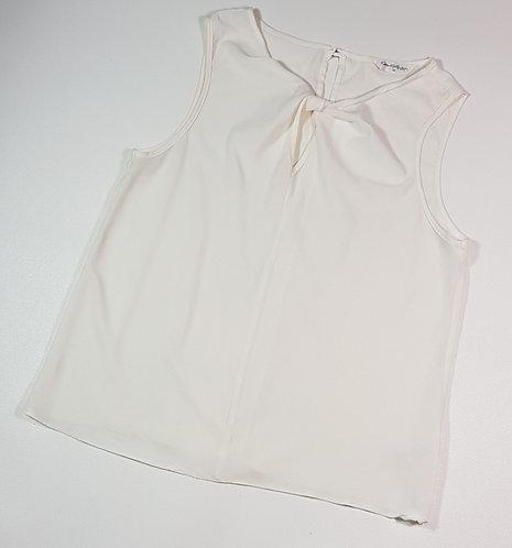 Miss Selfridge cream chiffon top. Size 10