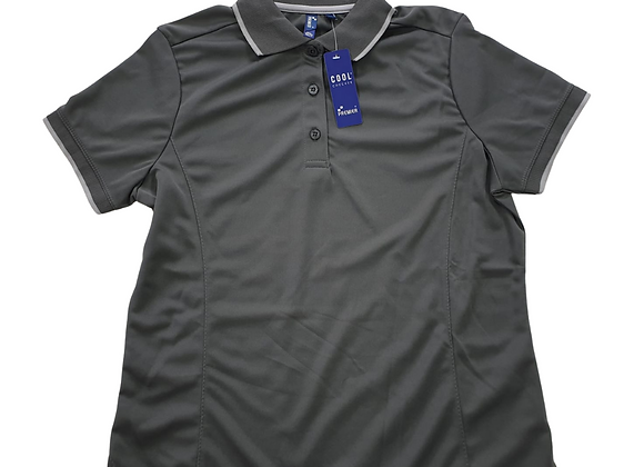 Premier grey polo shirt. NWT