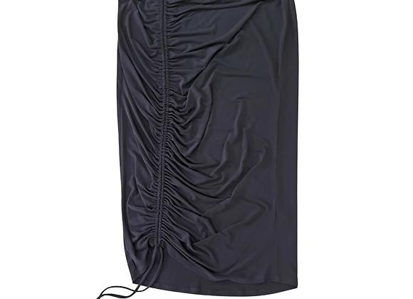 Very Black stretch fit skirt. Uk 18