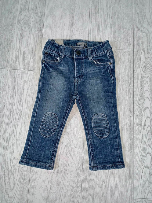 🦊Pumpkin Patch blue jeans. 12-18m