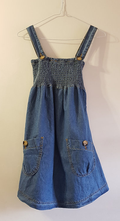 DENIM CO Denim dress. Size 8