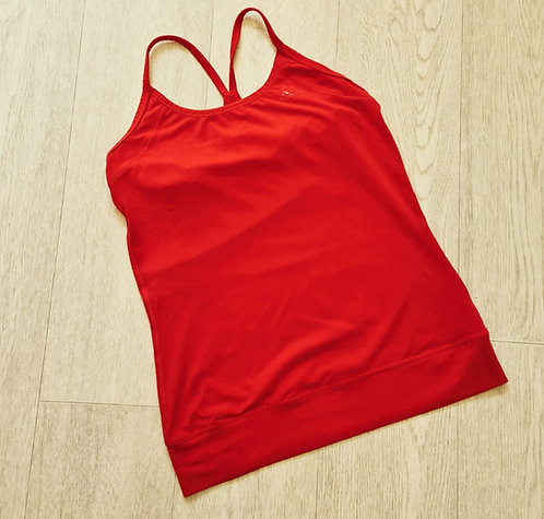 💜Adidas coral sports vest. Size 8