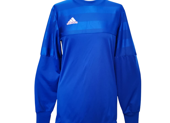 Adidas blue goal keeper top. Uk S