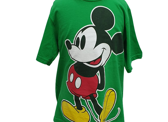 Disney green Mickey Mouse t-shirt. Size S