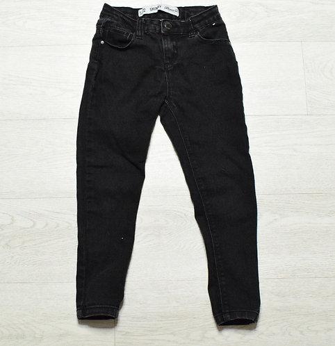 Denim Co black skinny jeans 6-7yrs