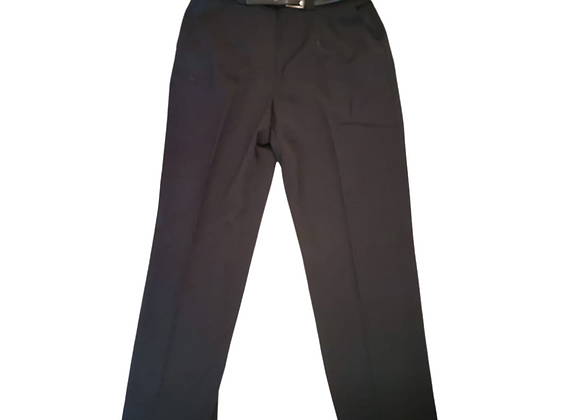 Blanchelle navy belted trousers. Uk 18 NWT