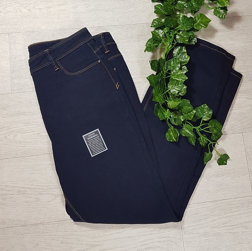 ✴BHS blue denim straight leg jeans size 14