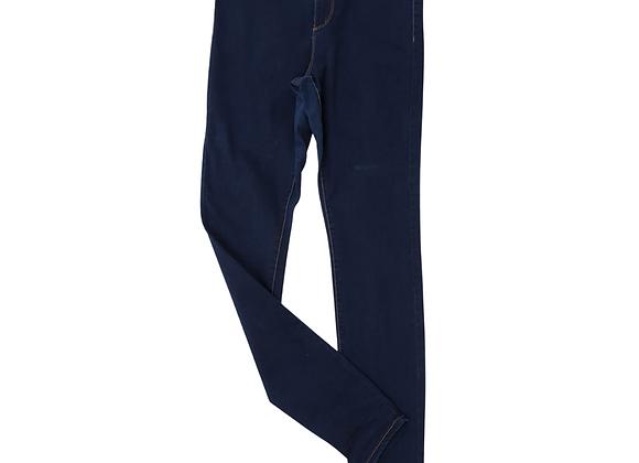 Denim Co high waist dark rinse skinny jeans. Uk 10