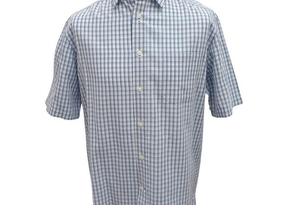 Blue Harbour check shirt. Size L