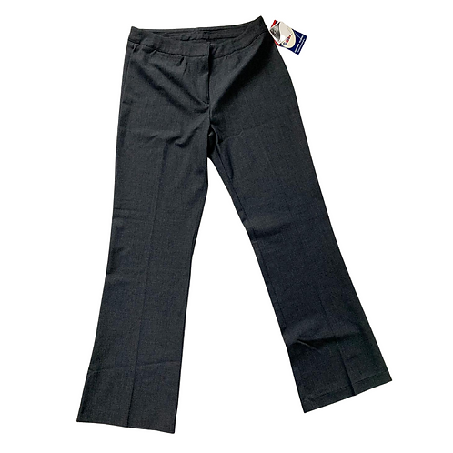 Banner grey bootcut school trousers. NWT
