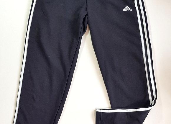 Adidas black straight leg joggers. Size M