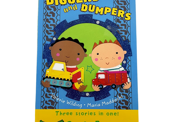 Diggers and Dumpers short stories for first readers