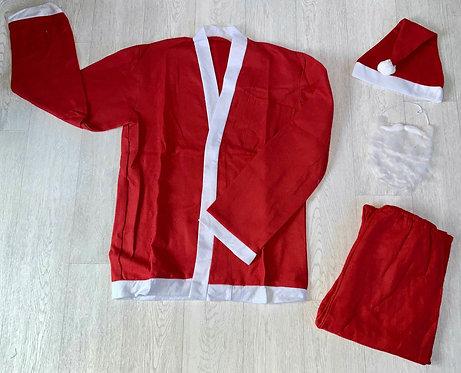 ♦️Adult's felt Santa suit. NWOT