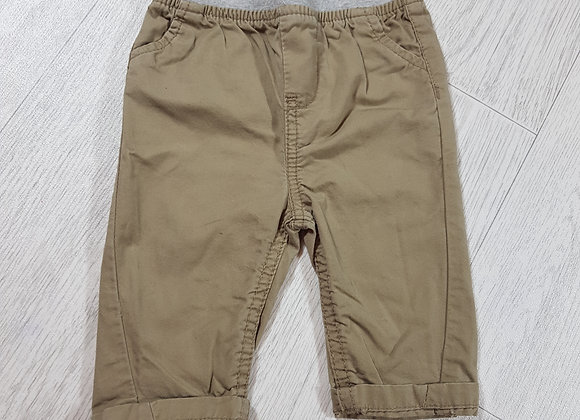 🐠Early days boys beige and grey turn up chinos size 3-6 months
