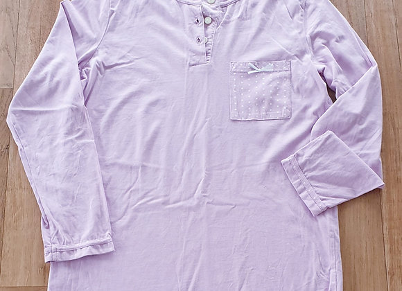 Damart purple pyjama top.