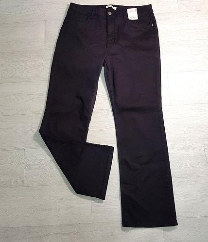 M&S black slim bootcut jeans. Size 18 NWT
