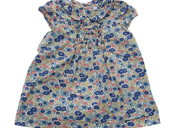 Boden floral blouse. 6-12m