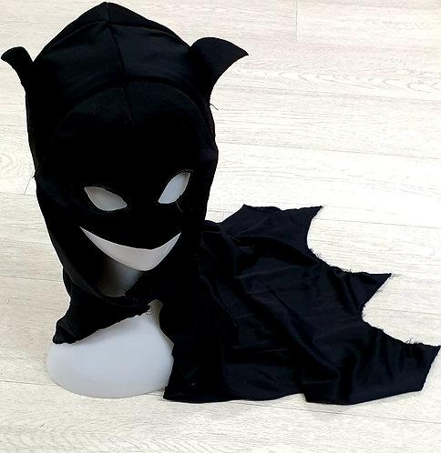 Batman hooded cape. 5-6yrs
